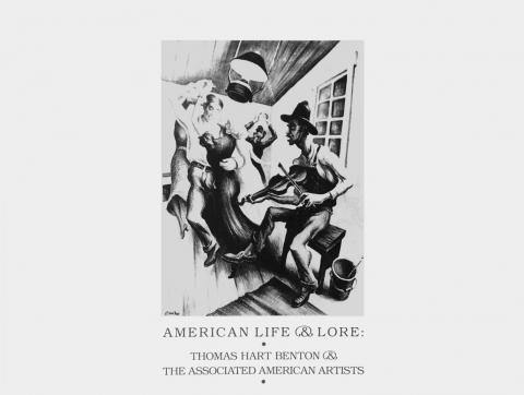 American Life and Lore: Thomas Hart Benton and the Associated American Artists - Cover