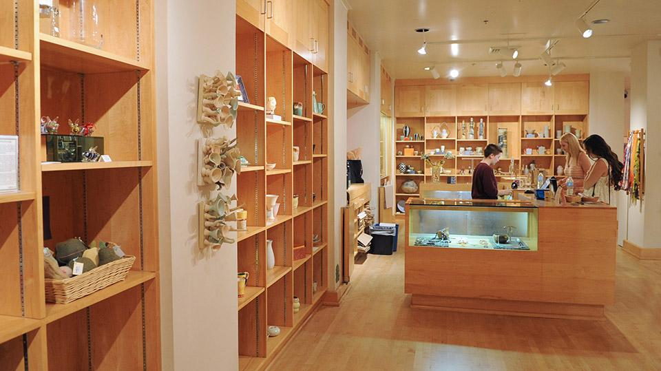 Photo of store inside the ASU Art Museum